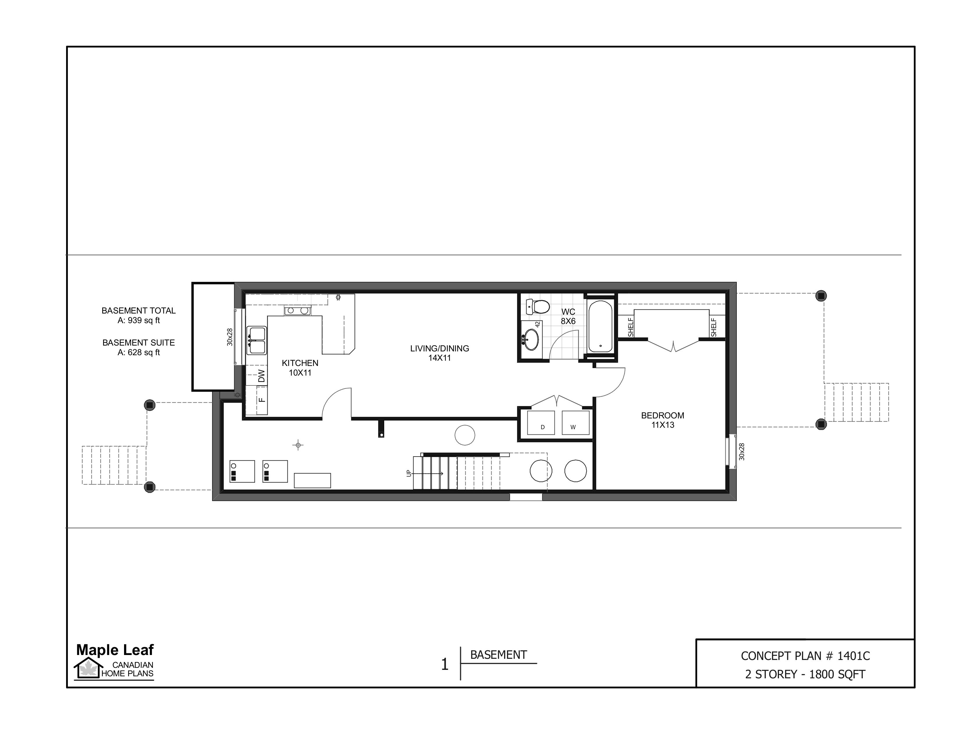 storey 1800 sqft for 25ft lot maple leaf canadian home plans